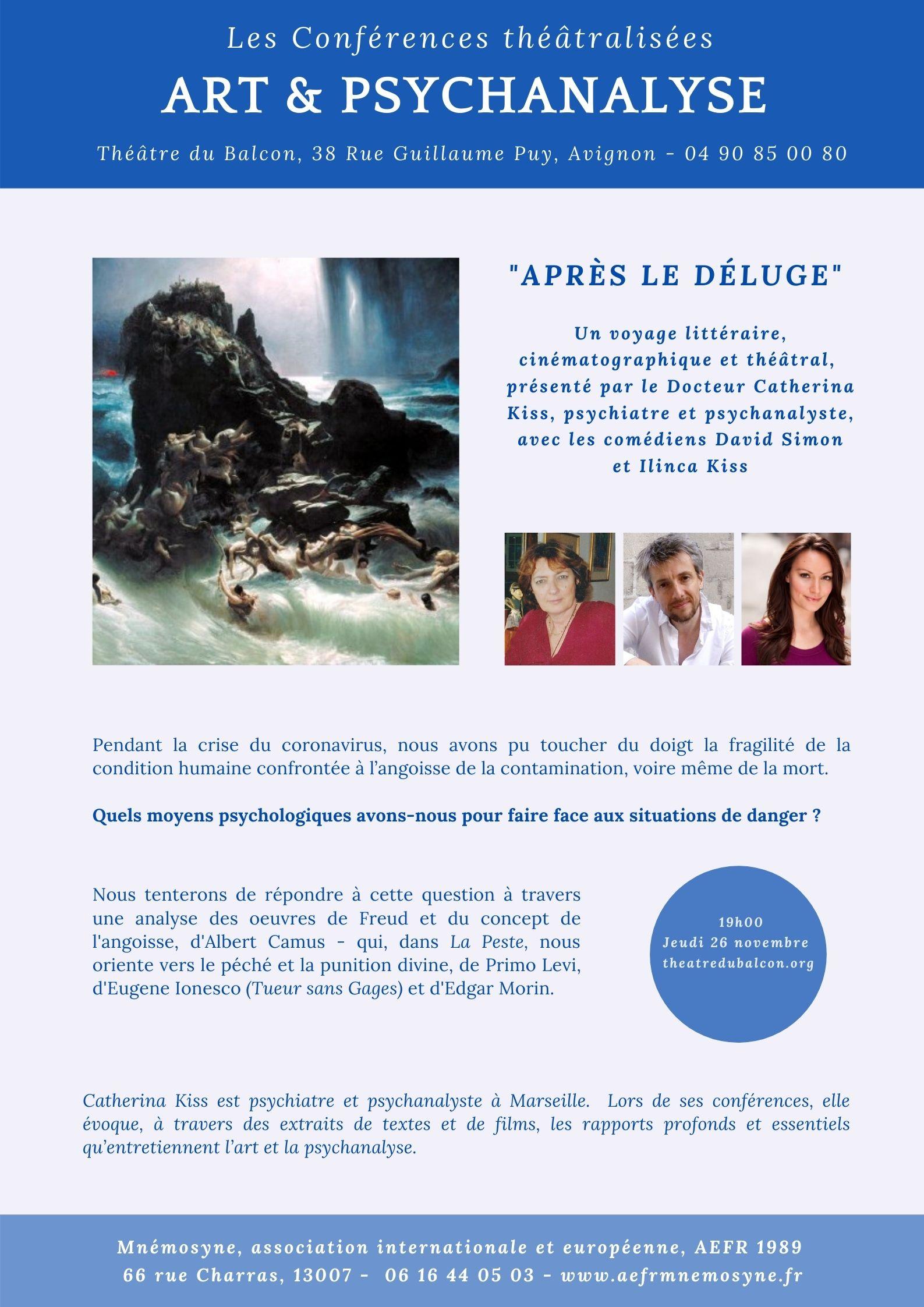 APRES LE DELUGE_Avignon_2020-11-26